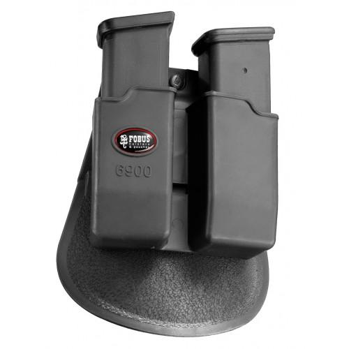 Fobus Çift Şarjörlük Glock 9mm